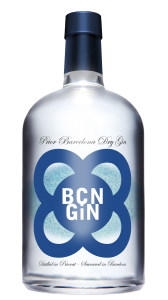 BCN GIN bottle front